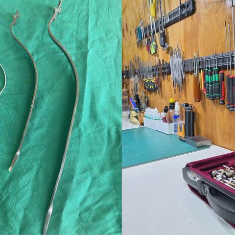 Programa de Mantención, limpieza y reparación básica instrumental FOJI