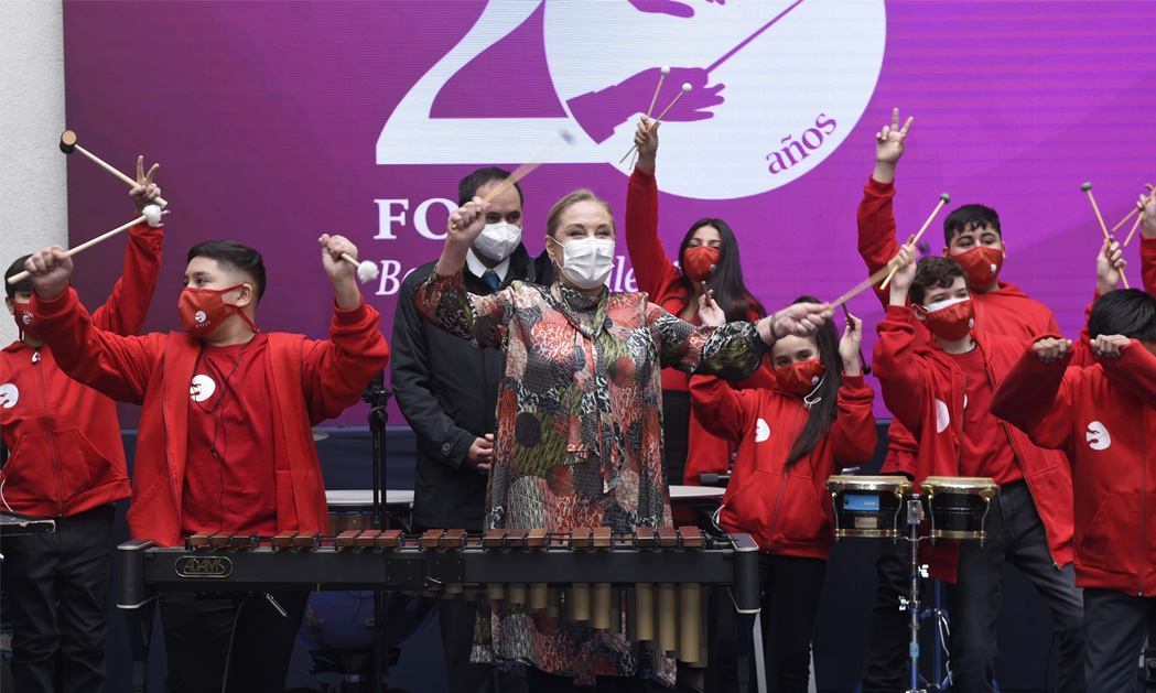 La FOJI celebra 20 años apoyando a más de 25 mil niños, niñas y jóvenes músicos de Chile y anuncia la primera orquesta pre infantil del país