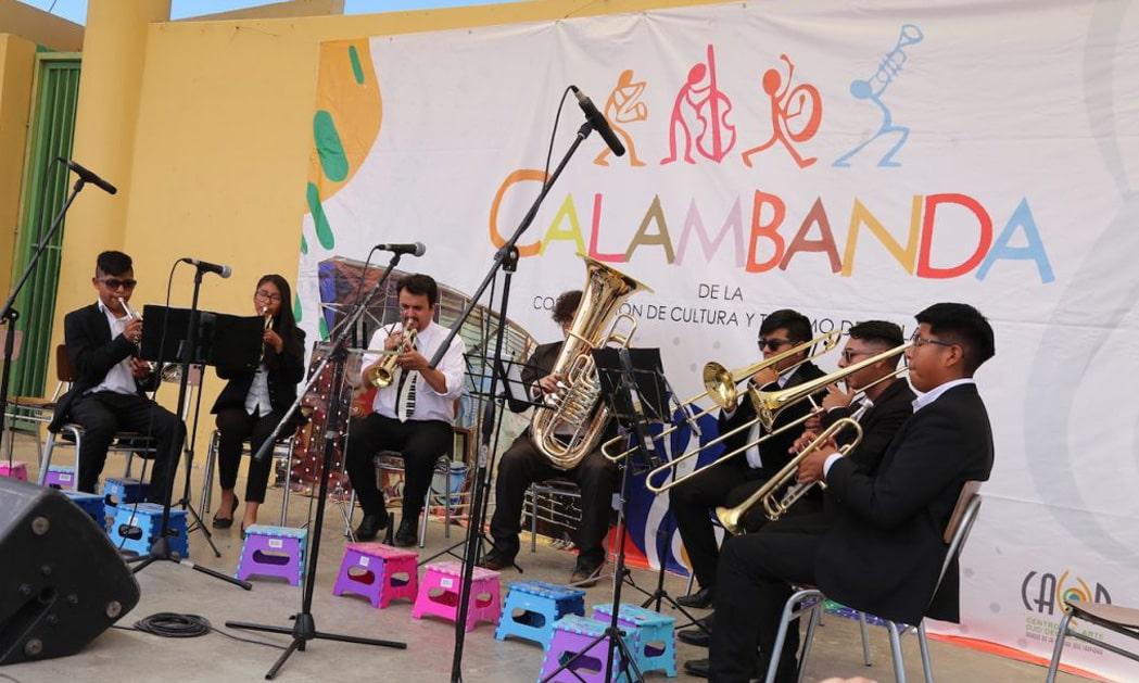 Calambanda será parte de proyecto orientado al fortalecimiento de orquestas juveniles