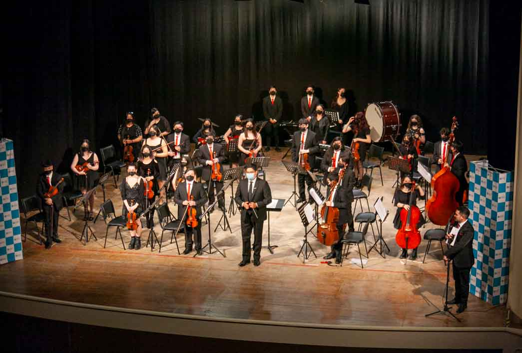 Exitoso regreso de la Orquesta Sinfónica Juvenil Regional de Magallanes.