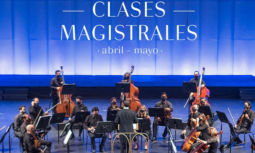 Clases Magistrales virtuales abril-mayo 2021 – Orquesta Filarmónica de Santiago