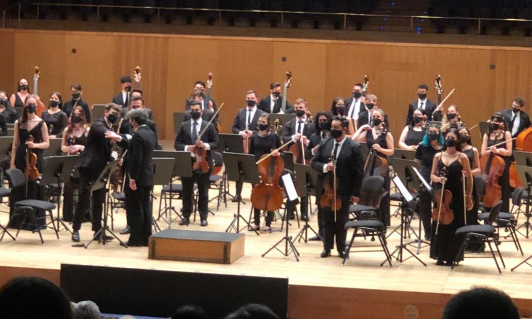Jóvenes de la FOJI representan a Chile en gira internacional junto a Gustavo Dudamel con el apoyo de Fundación CorpArtes
