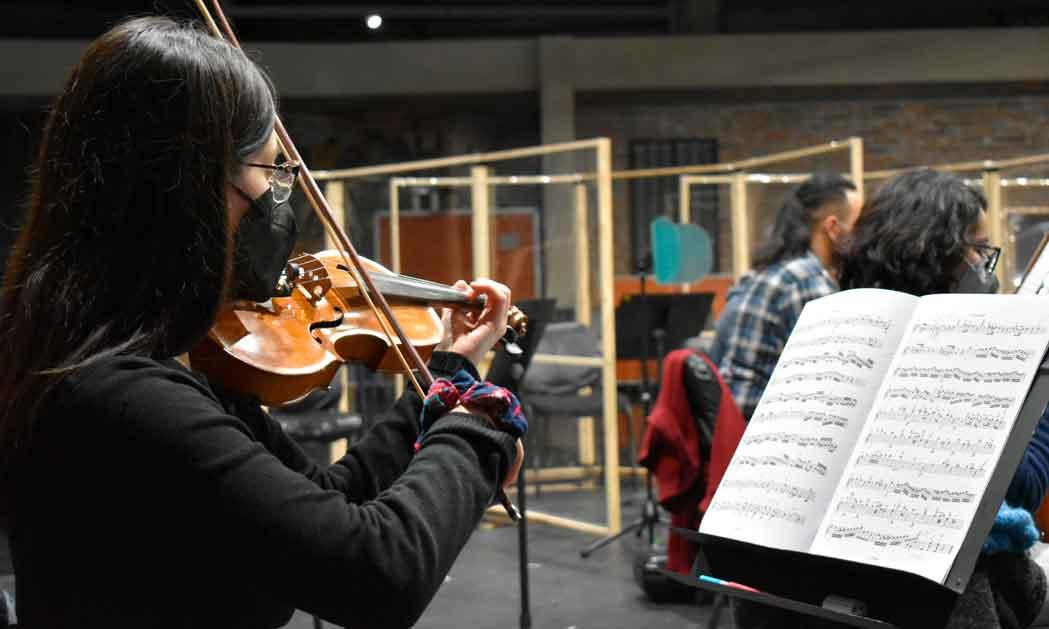 Orquesta Sinfónica Nacional Juvenil vuelve a los ensayos presenciales
