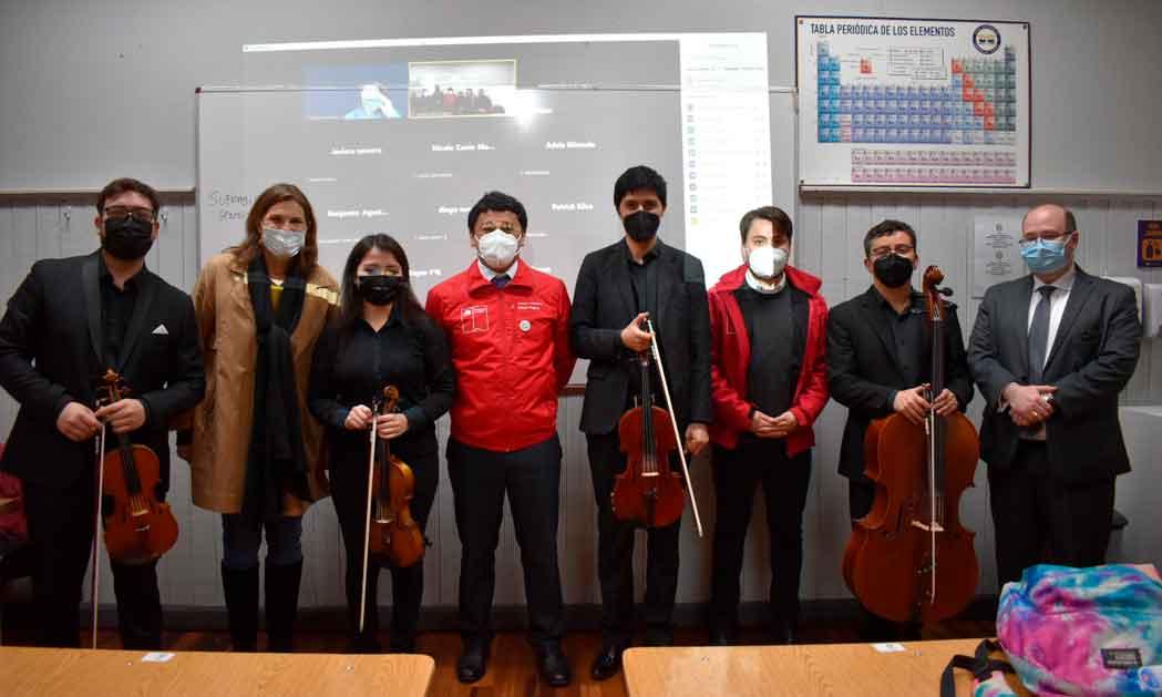FOJI inaugura el proyecto ¡Arriba la Orquesta! en La Araucanía
