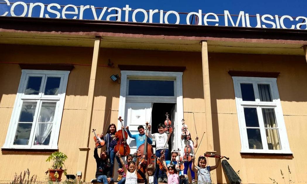 Orquesta infantil del COMBAS recibe Subvención Presidencial para poder continuar su labor educativa