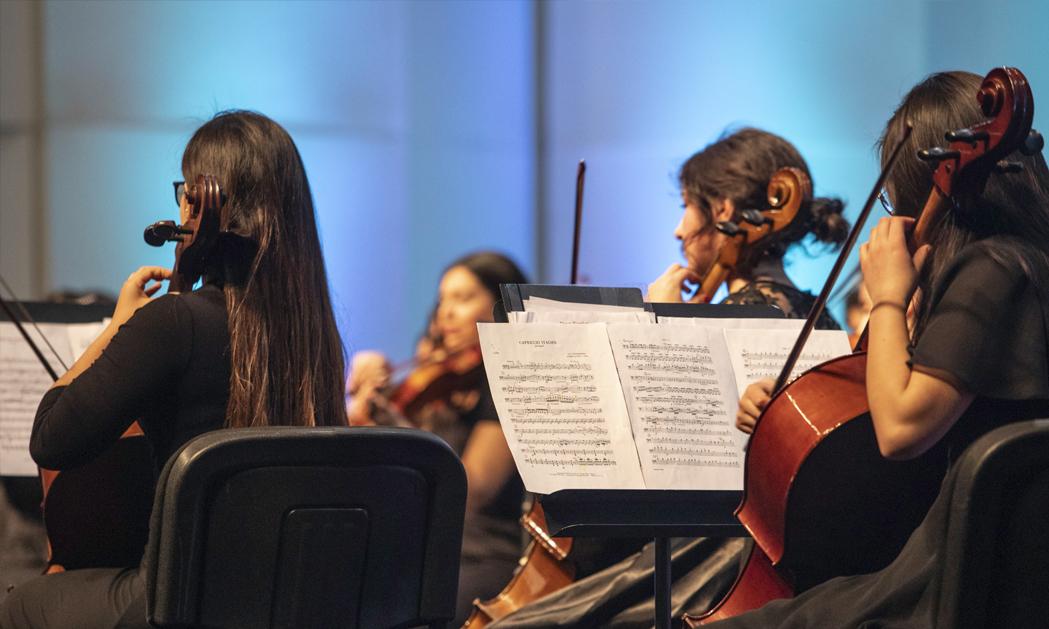 Directora Ejecutiva FOJI destaca creación de Camerata de Cuerdas en escuela Litoral Austral